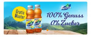 GRATIS – Nestea Zitrone Zero 50cl bei coop online