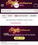 15% Rabatt auf alle Angebote von CITY & TRAVEL