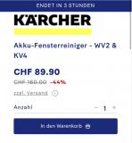 Kärcher Akku-Fensterreiniger – WV2 & KV4