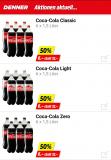 Denner: 50% auf 6×1.5Liter Coca Cola, (Fr. und Sa.)