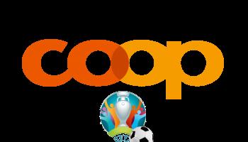 Aktionen passend zur EM bei Coop (Fleisch, Chips etc.):