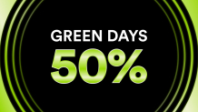 Green Days bei Chicoreé – 50% Rabatt auf das gesamte reguläre Sortiment