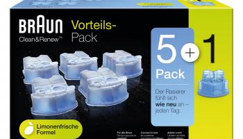 Braun CCR5+1 Reinigungskartuschen für Braun Rasierer bei techmania