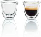 De'Longhi isolierte Espresso-Gläser (Thermogläser) – 2er Set