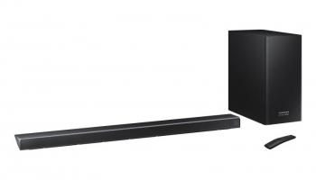 SAMSUNG HW-Q70R, 3.1.2-Kanal Dolby Atmos Soundbar mit Wireless Subwoofer bei microspot