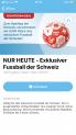 Gratis Fussball Schweiz bei kkiosk