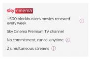Sky Cinema CHF 5.-/Monat während 3 Monaten (statt CHF 9.90/Monat)