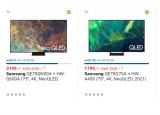 Samsung 75″ QLED 2021 mit Soundbar