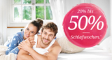 20 bis 50% auf alles aus dem Bereich Schlafen bei Toptip, z.B. Bett HOLZ WERK für CHF 699.- statt CHF 899.-