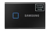 Portable SSD Samsung T7 Touch 500GB bei digitec (+ CHF 20 Cashback)