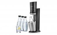 Sodastream Megapack mit 3 Glaskaraffen zum neuen Bestpreis bei Schubiger