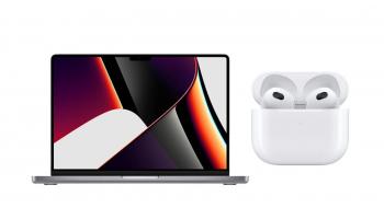 Apple MacBook Pro 14, CTO mit Apple Airpods 3
