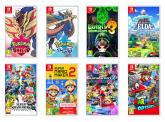 2 Switch Games (Mario Kart, Mario Party, Animal Crossing, Luigi's Mansion) und 1kg Regeneriersalz
