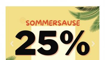Bettenland: 25% Rabatt