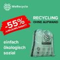 WeRecycle: 55% Rabatt auf alle Jahresabonnemente (nur heute)!