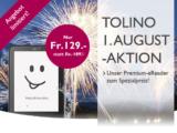 tolino vision 4 HD für nur CHF 129.- bei buch.ch