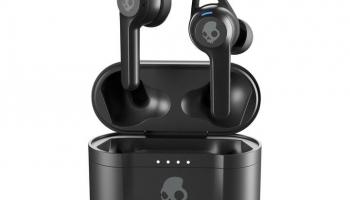 Skullcandy Indy Fuel True Wireless, In-Ear Kopfhörer in Schwarz und Grau bei Interdiscount