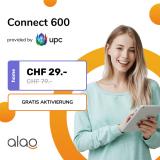 UPC Connect 600 Glasfaser-Abonnement bei Alao