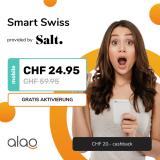 Salt Smart Swiss bei alao für CHF 23.07 im Monat