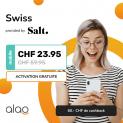 Salt Swiss (CH unlimitert, 60 Min / 500MB Roaming in EU, USA & Kanada) + Cashback und Gutscheine!