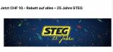 10.- CHF Rabatt auf alles bei STEG Electronics OHNE MBW bis 13.10.2019