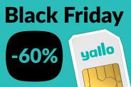 Ab sofort – Black Friday bei yallo mit 60% Rabatt solange du willst