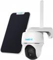 Reolink Go PT 3G/4G LTE Überwachungskamera Aussen + Solarpanel, Kabellose IP Kamera Outdoor mit Akku, 355°/140° Schwenkbar, 1080p Full HD, 16GB microSD Karte, 2-Wege-Audio