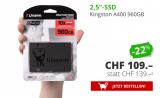 KINGSTON SSD A400, 960GB bei Daydeal für 109.- CHF
