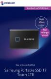 Samsung Portable SSD T7 TOUCH 1TB für CHF 79.- (50.- Cashback)