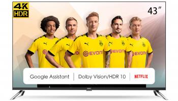 Chiq U43H7M 43″ 4K-Fernseher mit Android TV bei melectronics zum Spottpreis
