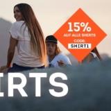 15% auf Shirts bei SportScheck, z.B. Naketano Rooftop Bangbang Damen-Shirt für CHF 30.56 statt CHF 35.95