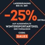 25% auf ausgewählte Wintersportartikel bei SportScheck, z.B. Wearcolour Ida Snowboardjacke für CHF 129.72 statt CHF 219.95
