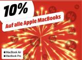 10% auf alle Apple MacBooks bei Mediamarkt