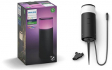 PHILIPS Hue White and Color Ambiance – Calla Outdoor Sockelleuchte – Erweiterung