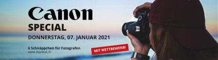 Canon-Special bei Daydeal am 7.1.21