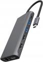ICY BOX USB-C Dock IB-DK4050-CPD (100W USB-C, DP 1.4, 2x HDMI, GLAN, 4  USB) bei Amazon