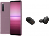 Sony Xperia 5 II 5G Pink inkl. Sony WF-1000XM3 TWS-Kopfhörer bei Amazon