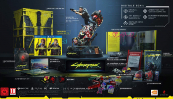 Cyberpunk 2077 Collector's Edition für die Playstation (auf PS5 upgradebar) bei Amazon