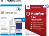 Microsoft 365 Family | Office komplett | 1 TB OneDrive-Speicher