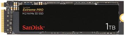 SanDisk Extreme Pro m.2 NVMe 3D SSD Interne Festplatte 1 TB zum Bestpreis