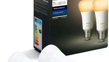 Philips Hue White Ambiance Doppelpack E27 bei amazon.co.uk