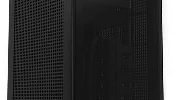 NZXT H1 mini-ITX-Gehäuse mit 650W-Netzteil mit 80+ Gold und 140-mm-AIO-Wasserkühler bei Alternate