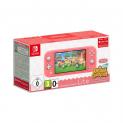 Nintendo Switch Lite im Bundle mit Animal Crossing: New Horizons in Türkis oder Koralle bei Mediamarkt