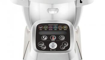 Moulinex HF800A Cuisine Companion Küchenmaschine (weiss) bei Heiniger
