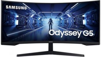 SAMSUNG Odyssey G5 LC34G55TWWU (34″ Curved UWQHD, VA, 165Hz, HDR10) bei Interdiscount zum neuen Bestpreis
