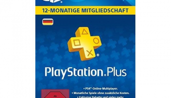 12 Monate Playstation Plus Code bei Mediamarkt