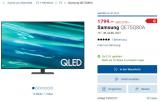 Samsung 75″ QLED 80, 2021 für CHF 1799.-
