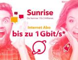 QoQa: Sunrise Giga Internet für 29.- CHF/Monat (für 5 Jahre)