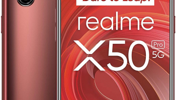 Realme X50 Pro 8/128GB Rust Red bei Amazon