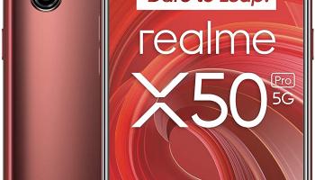 Realme X50 Pro 8/128GB Rust Red bei Amazon